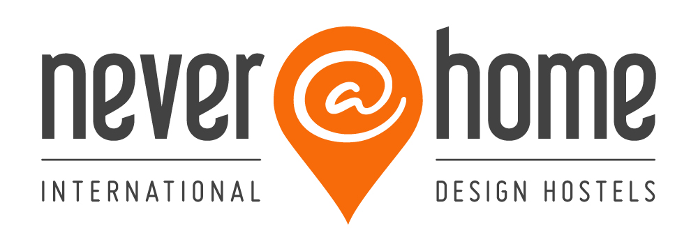 Never@home logo