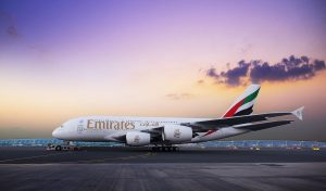Emirates gets high marks for flying quiet and clean