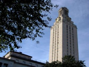 UT Tower at University of Texas